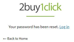 Password Reset - Fifth Step